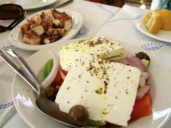 Greek Salad (Aegina, Greece)