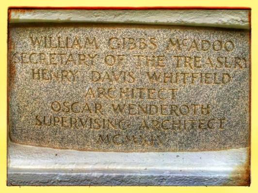 Original engraving found along building