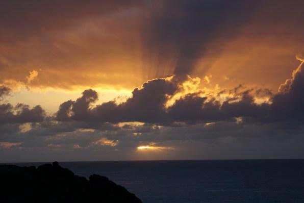 That sunrise!