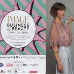 IMAGE awards 2018 Niamh Hogan Holos Most Innovative Irish Brand