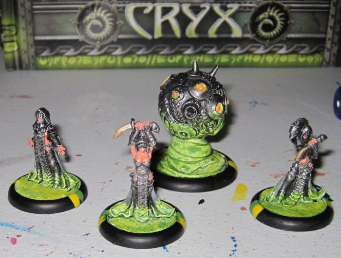 Warmachine Tactics - Cryx: Cackle with the Coven!