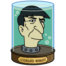futurama leonard nimoy head