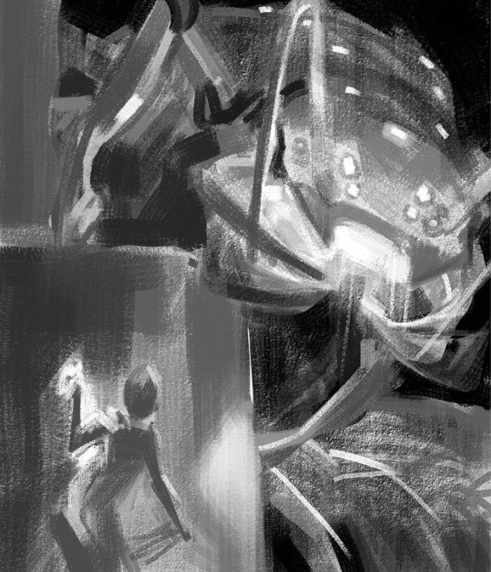 Time Reavers cover rough sketch 2