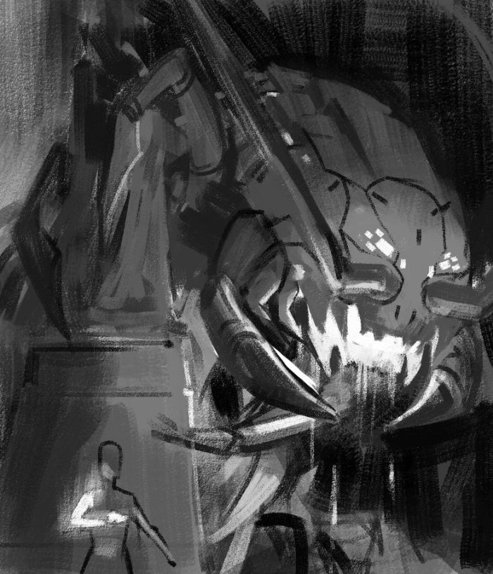 Time Reavers cover rough sketch 3