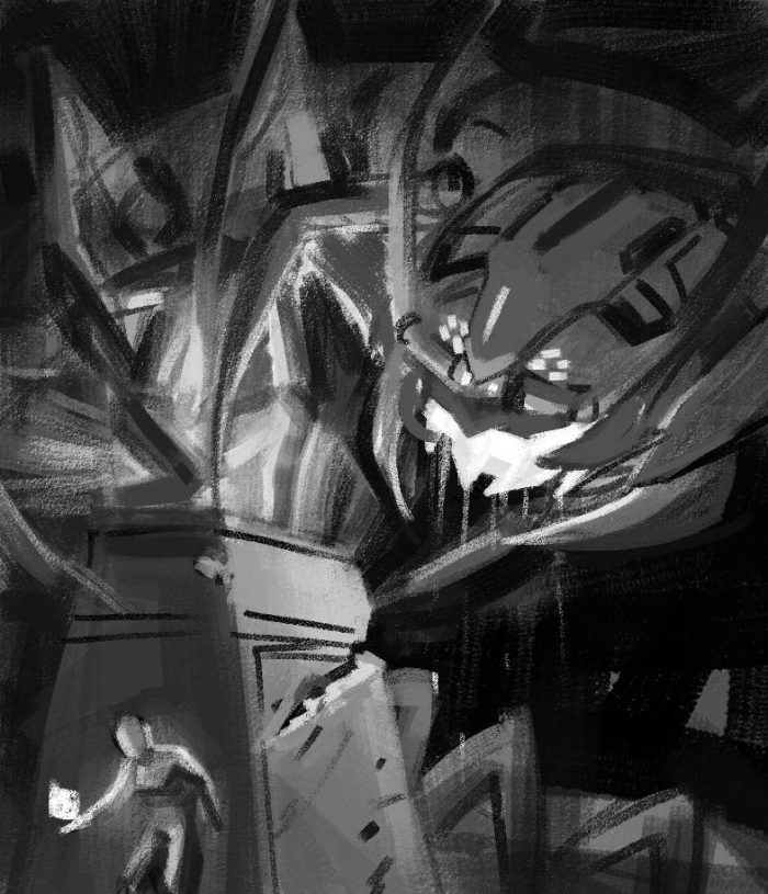 Time Reavers cover rough sketch 4