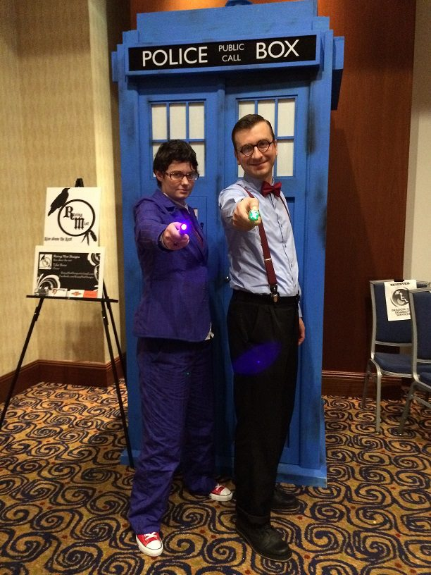 cosplay tenth and eleventh doctors