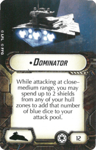 Star Wars Armada Dominator