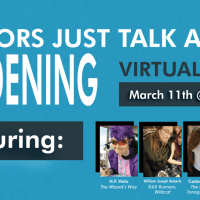 Join H.P. for Authors Just Talk About Gardening! (Virtual Panel)