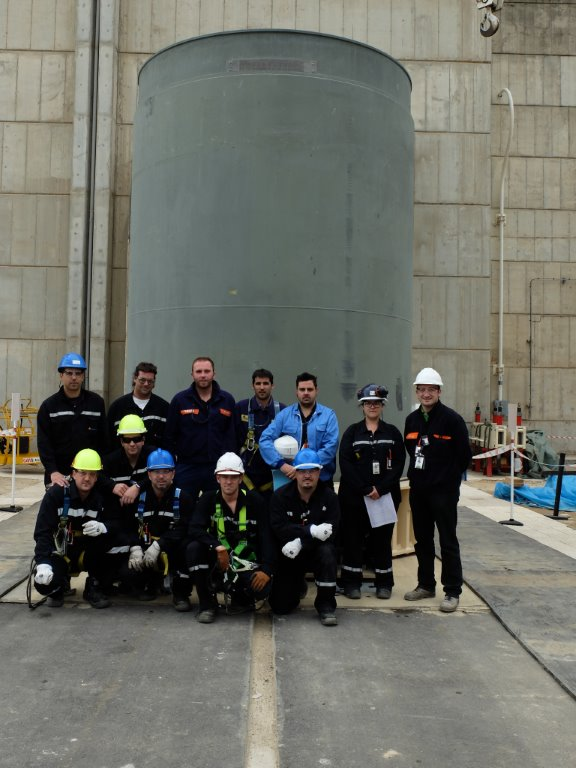 The First Loading Campaign at Spain's Ascó Nuclear Plant is Complete