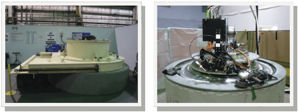 Stack-Up Configuration Station (Left) and Automated Welding System Station (Right) at the Holtec Training Center