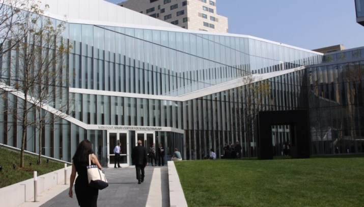 The Krishna P. Singh Center for Nanotechnology on Walnut Street in Philadelphia
