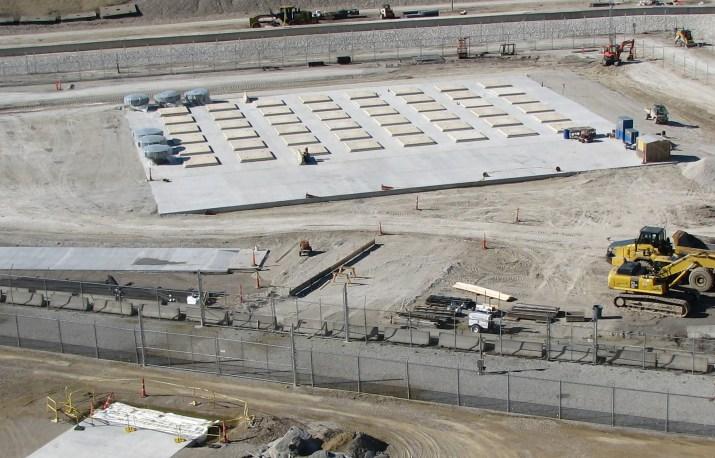 HI-STORM UMAX ISFSI Undergoing Commissioning at a U.S. Nuclear Plant