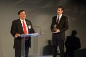 Dr. K.P. Singh Receiving 2015 Thomas Alva Edison Patent Award