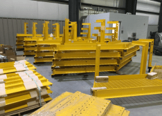 HI-STORM work platforms manufactured at Holtec's Advanced Manufacturing Division in Camden.