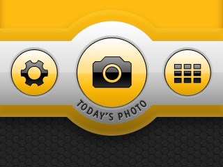 Project 365 Pro UI - Home screen