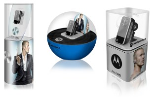 "Motorola H12 Ares ""Beckham"" packaging designs"