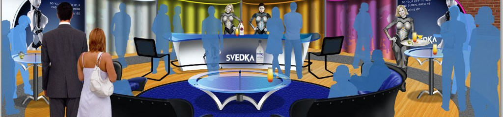Svedka Event Space Illustration