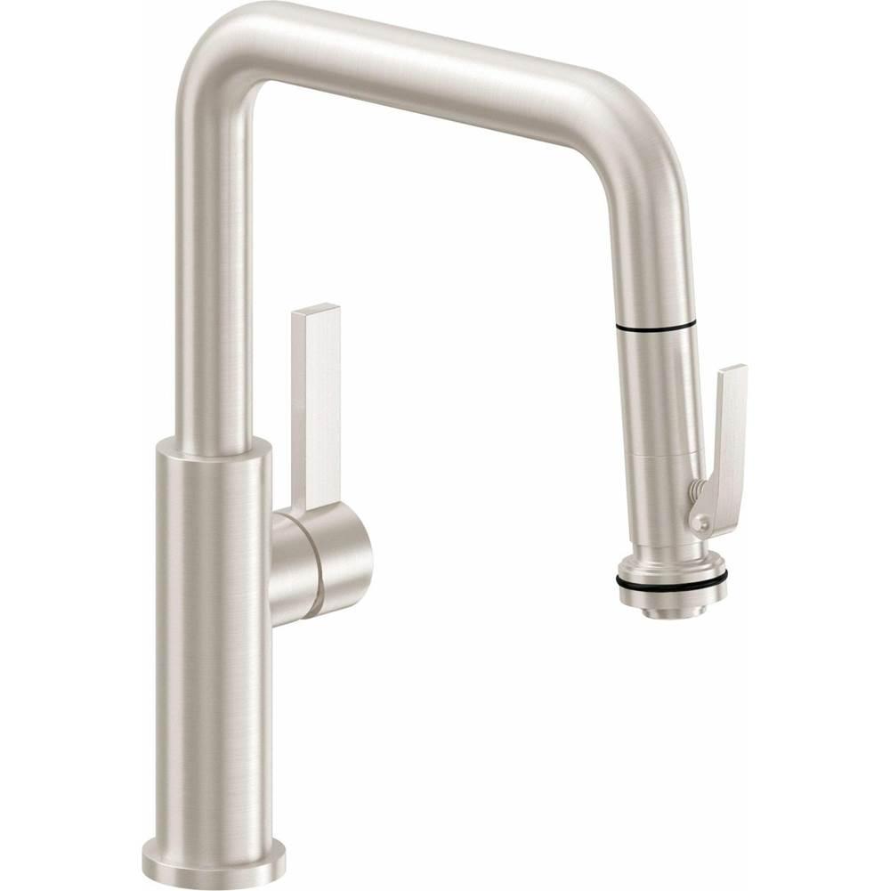 pull down kitchen faucet quad spout
