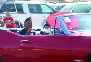 Veteran's Day Parade in Holtville on Nov 11, 2019