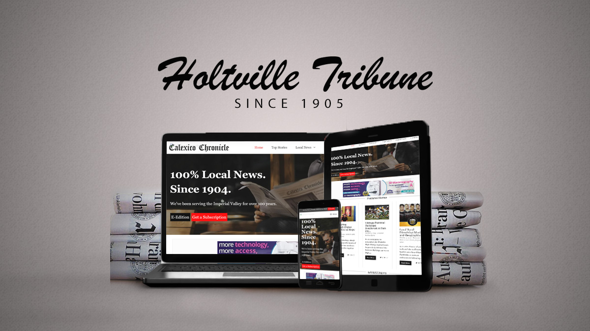 Holtville Tribune - Since 1905