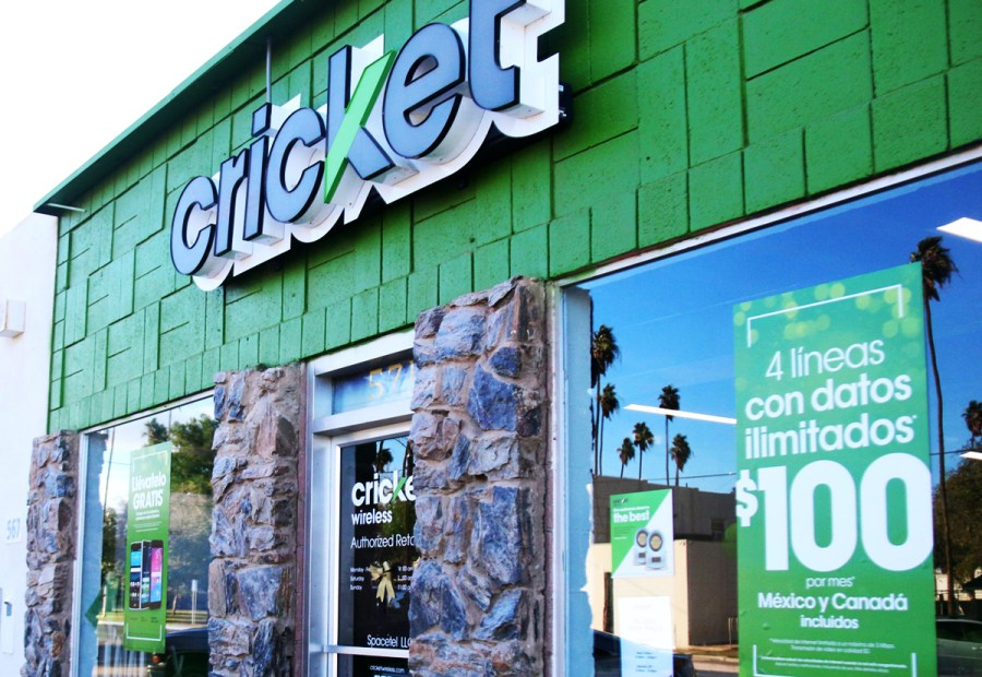 The Cricket Wireless store at 571 Pine Ave. in Holtville.