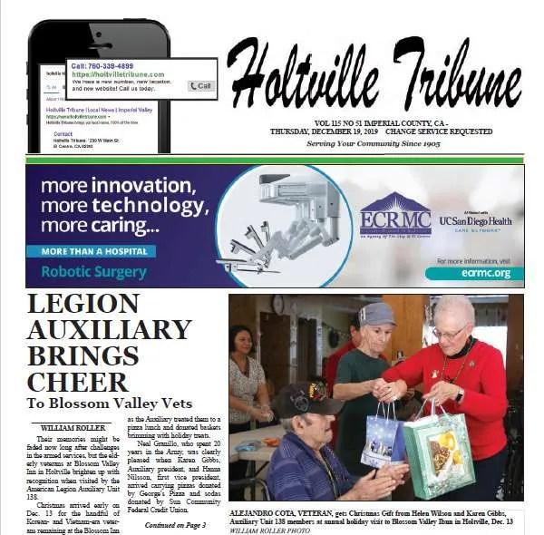 Holtville Tribune e-Edition 12-19-19