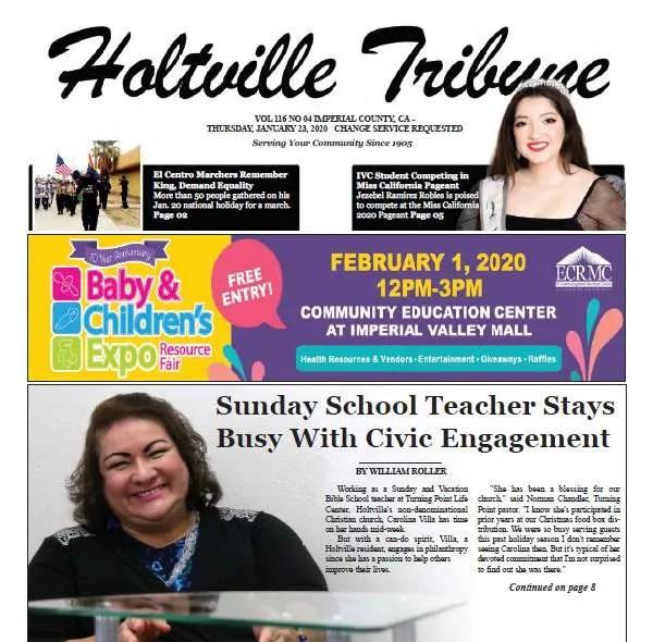 Holtville Tribune e-Edition for 1-23-20