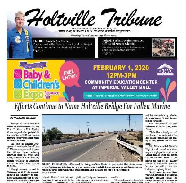 Holtville Tribune E-Edition 1-9-20