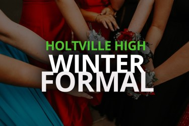 Holtville High's First Winter Formal