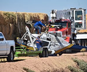 Holtville Copter Crash Leaves Pilot with Minor Injuries