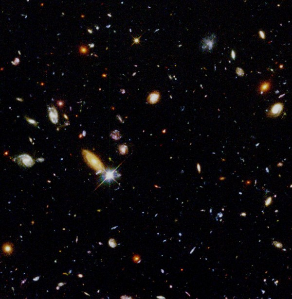 Hubble Pictures High Resolution Hubble deep field hi-res.