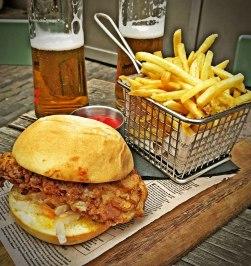 The Argyle Chicken Burger Review Food Critic HolyCluck Holy Cluck Sandwich Chook Eran Thomson