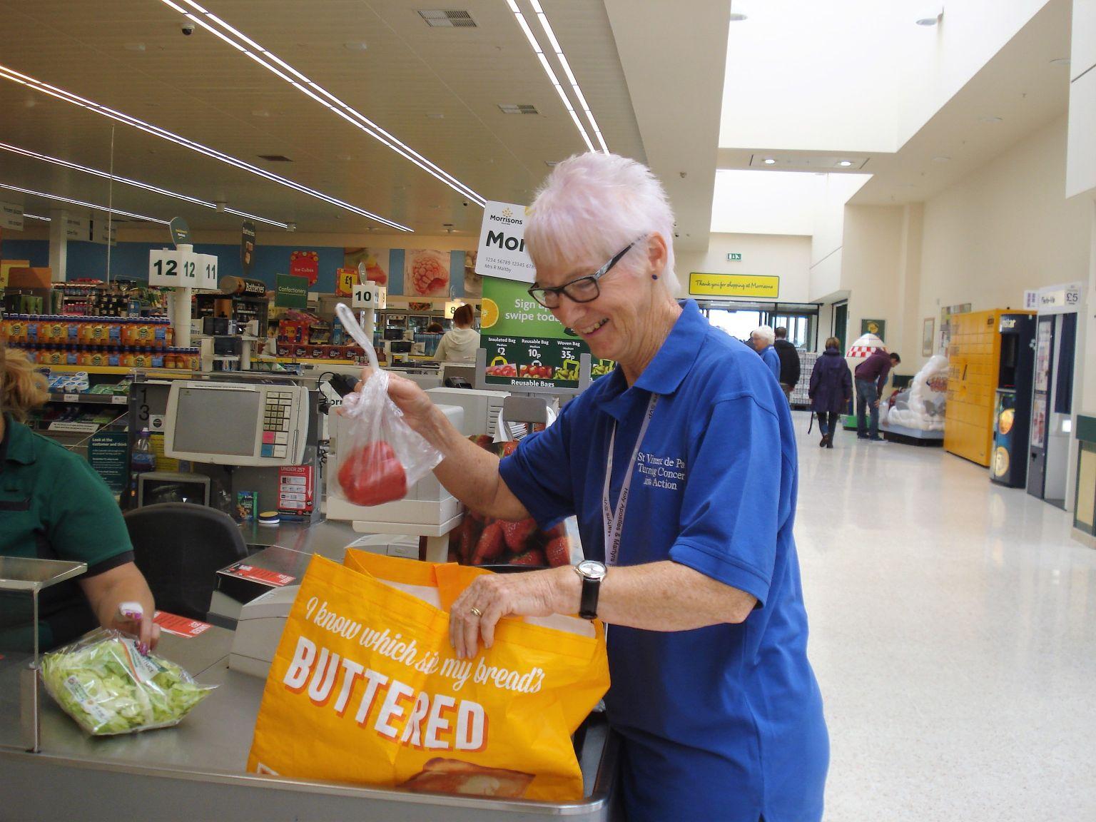 Bag-packing in Morrison's