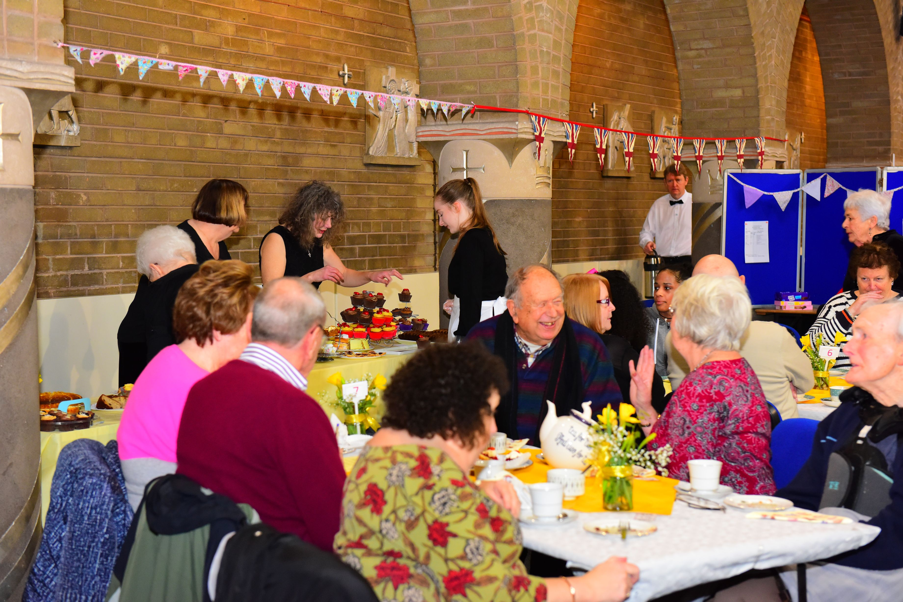 SVP tea party in full swing