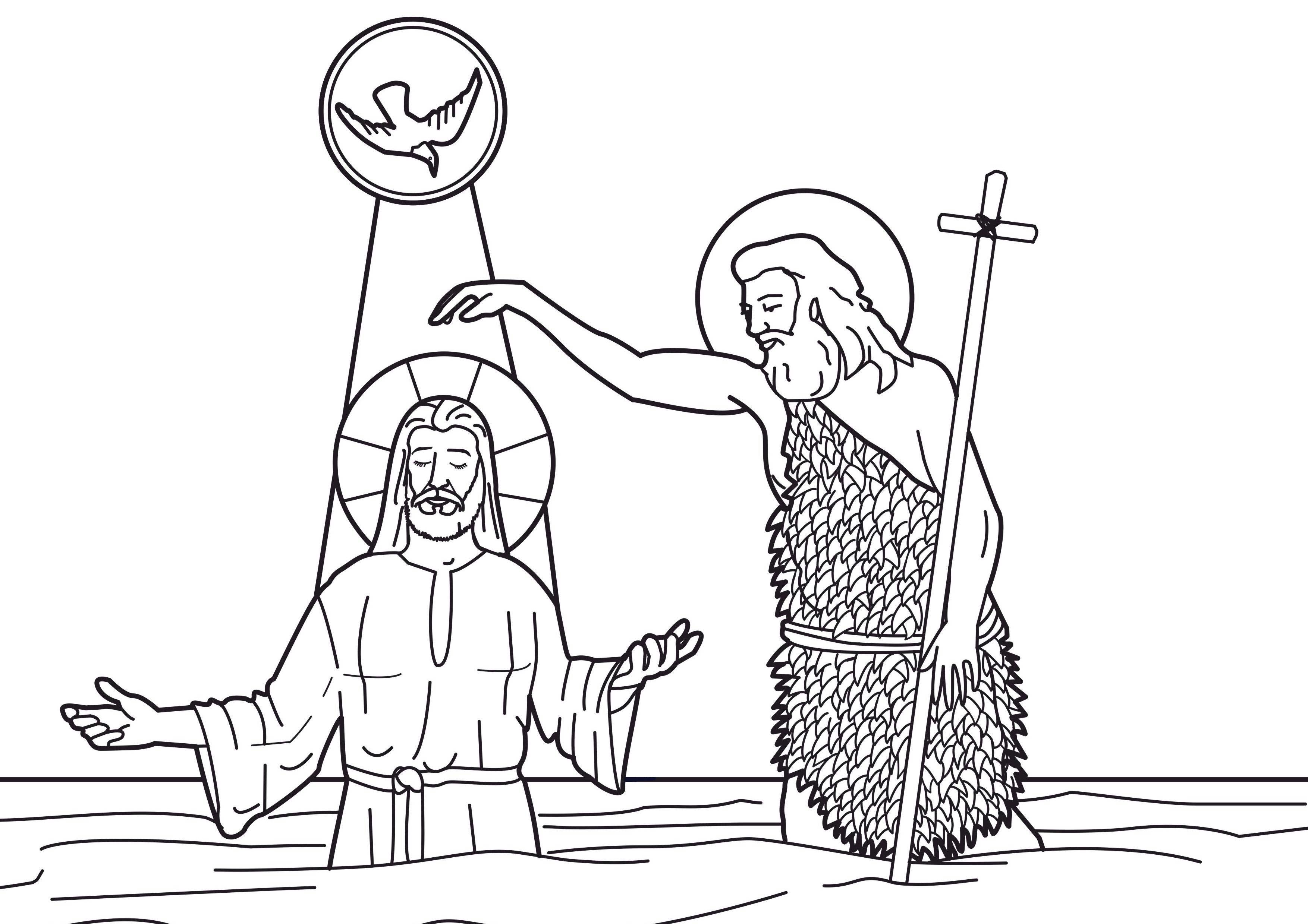Fun For Kids Baptisms And John The Baptist