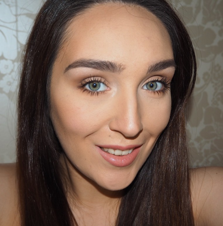 Finished look using Benefit products