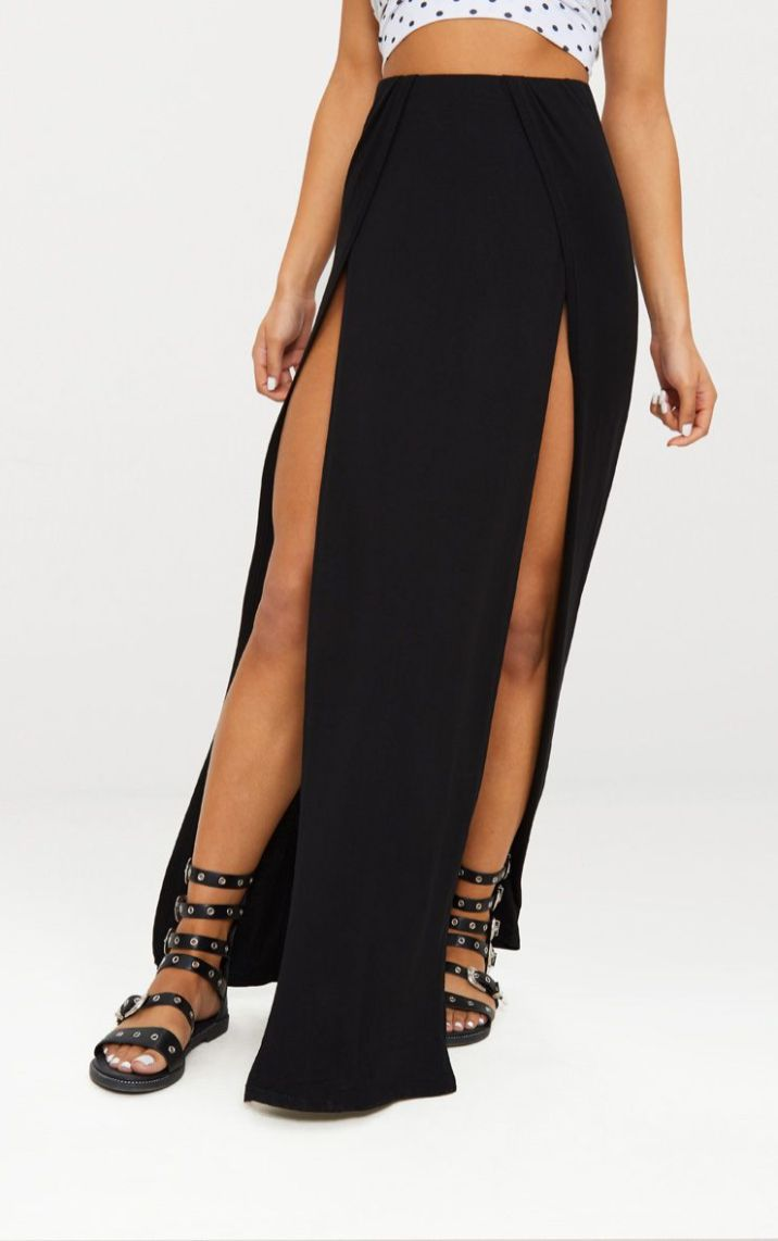 plt holiday maxi skirt