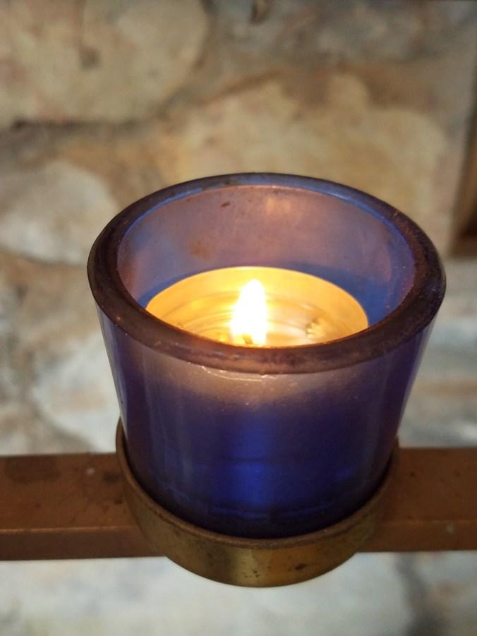 Fatima candle