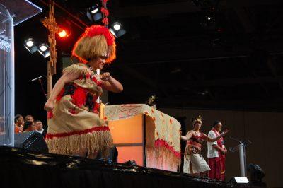 Samoan dancers at General Synod 2013