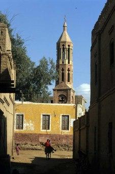 Photo: Norbert Schiller, the Church of St. John the Short at Dayr Abu Hinnis.