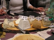 yet another cheese tasting ...