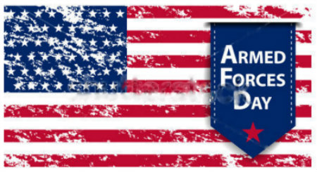 Happy Armed Forces Day!