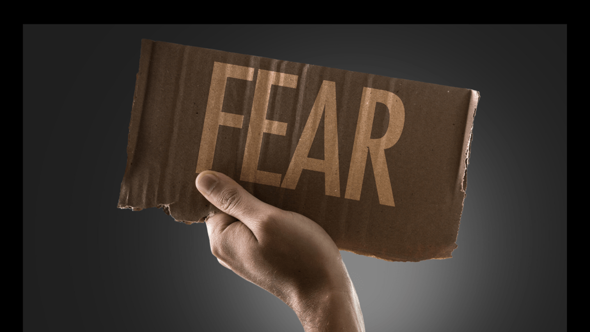 In the name of Jesus, fear, you will no longer control my life!