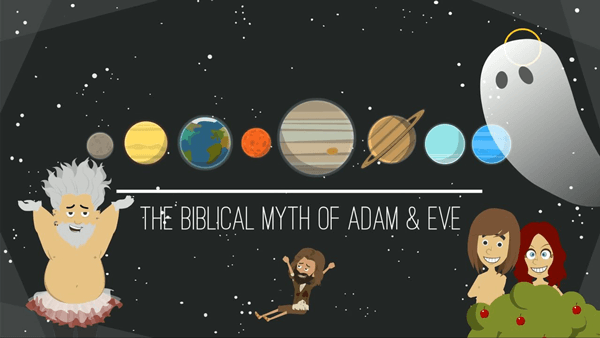 Animated Bible Myths Adam and Eve