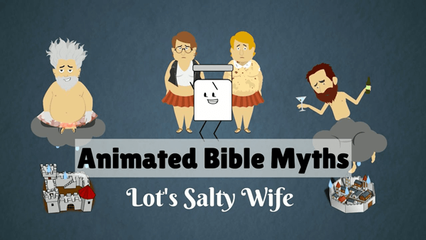 Animated Bible Myths Lot's Salty Wife