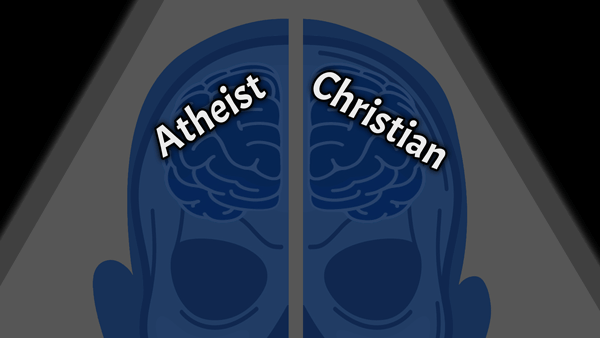 split brain patient with two souls