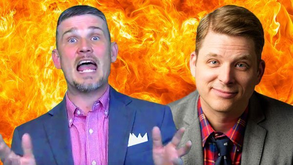 Book Burning Pastor Greg Locke Wants to Debate Atheist Author Andrew Seidel