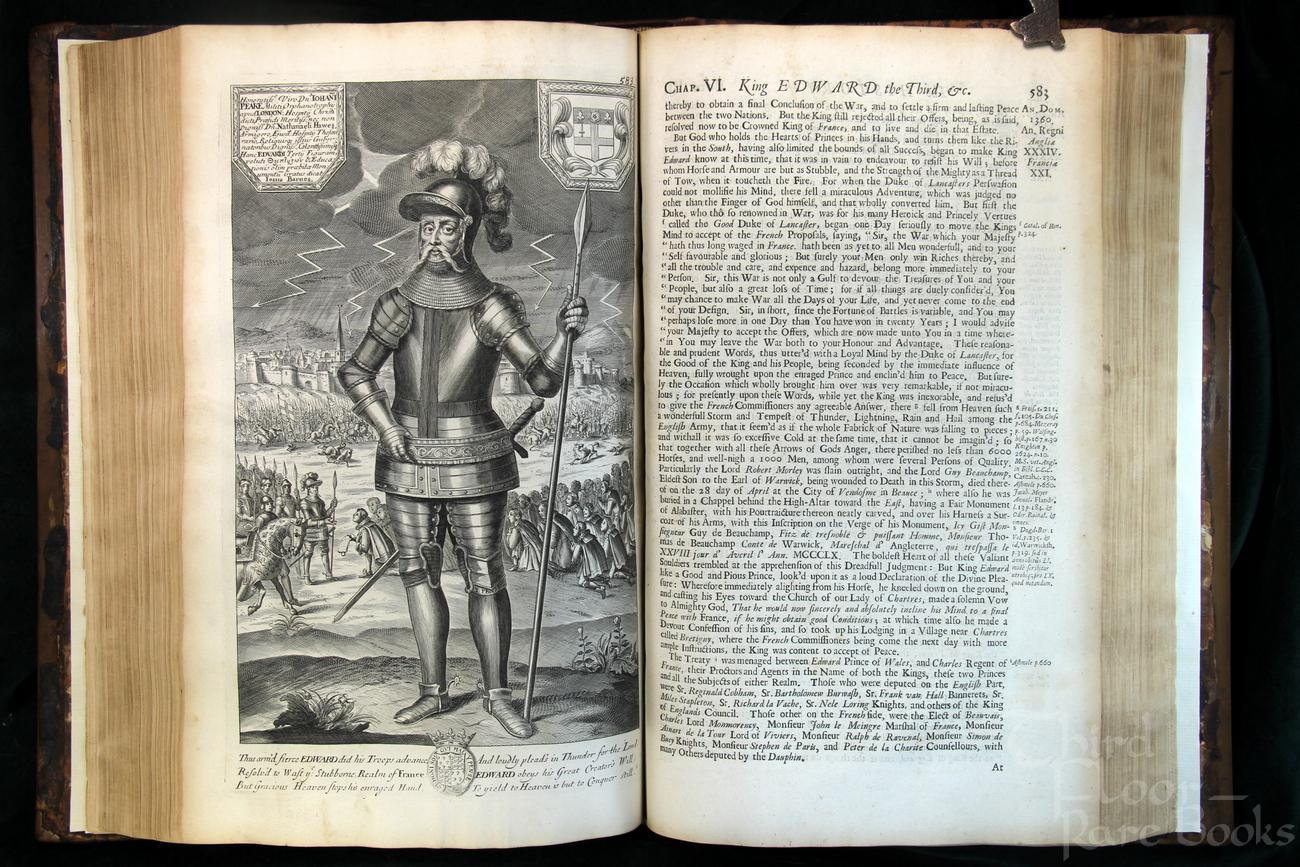 Joshua Barnes account of Edward III and Black Monday