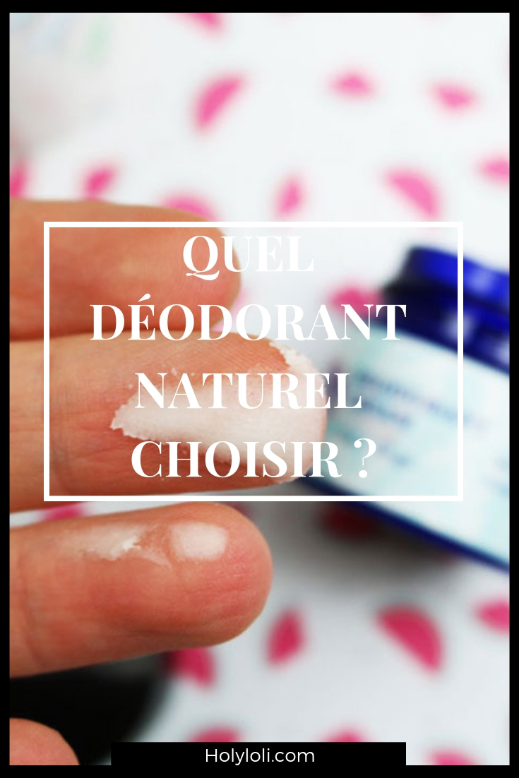Je compare trois marque de déodorant naturel avec les points positifs et negatifs de chacun