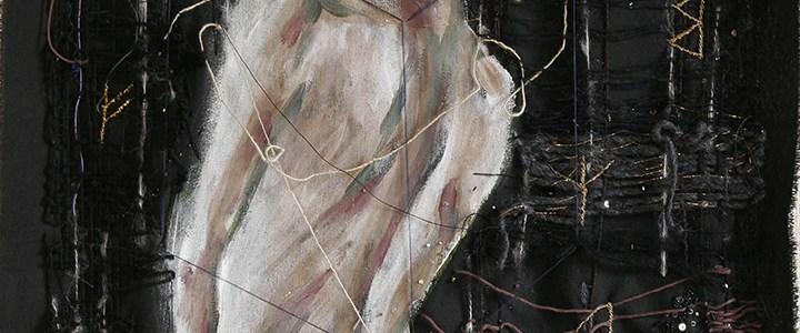 Mon travail de fiber art dans une exposition en Italie